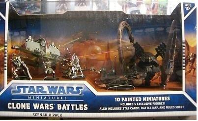 (Star Wars Miniatures Clone Wars Battles Scenario Pack)