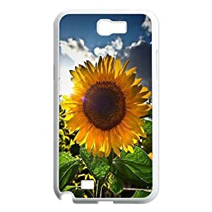 Sunflower Customized Cover Case for Samsung Galaxy Note 2 N7100,custom phone case ygtg562482