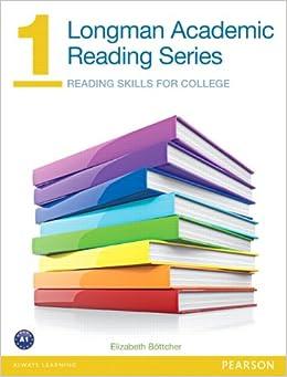 Longman Academic Reading Series 1 Student Book