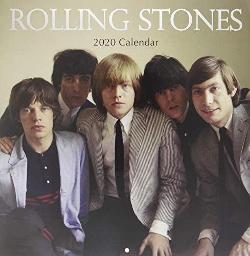 Rolling Stones 2020 Square Wall Calendar