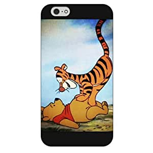 DiyPhoneDiy Disney Series Phone Case For Iphone 5/5s Cover , Lovely Cartoon Toy Story For Iphone 5/5s Cover , Only Fit for For Iphone 5/5s Cover (White Hard Shell)