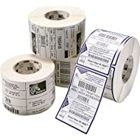 Zebra Technologies 10010037 Z-Select 4000D Paper Label, Direct Thermal, Perforated, 1.2 x 0.85, 1 Core, 5 OD, 2710 Labels per Roll (Pack of 6)