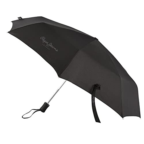 Paraguas Plegable Automatico Pepe Jeans lenten negro