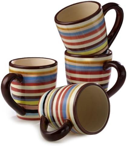 Set of 4 Tabletop Lifestyles Sedona 16-Ounce Mug