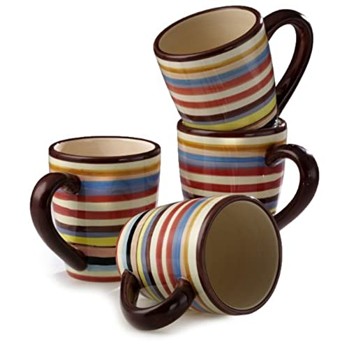 striped mugs Oversized