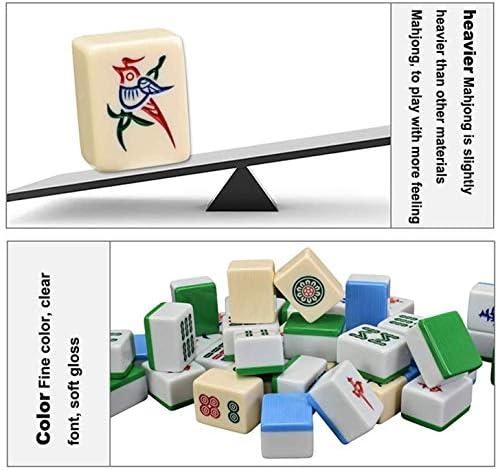 AJH Boutique Mahjong Set - Prachtige aluminium geschenkdoos, Melamine productie, Majong Set Mah Jong Mah Jongg Sets Majiang
