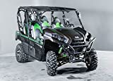 Kawasaki Teryx 2016-2018 (2/4 Seater) 13 1/2'' Tall Half WindshieldTallest on the market (we make shorter upon request let us know at time of order).