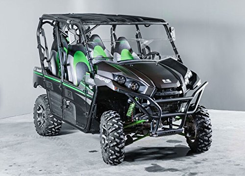Kawasaki Teryx 2016-2018 (2/4 Seater) 13 1/2'' Tall Half WindshieldTallest on the market (we make shorter upon request let us know at time of order). by UTV Windshields and Accessories