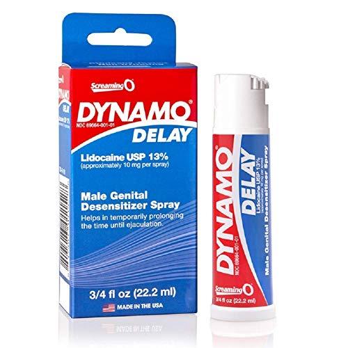 Screaming O Dynamo Delay Spray .75oz with Free JO H20 LUBE