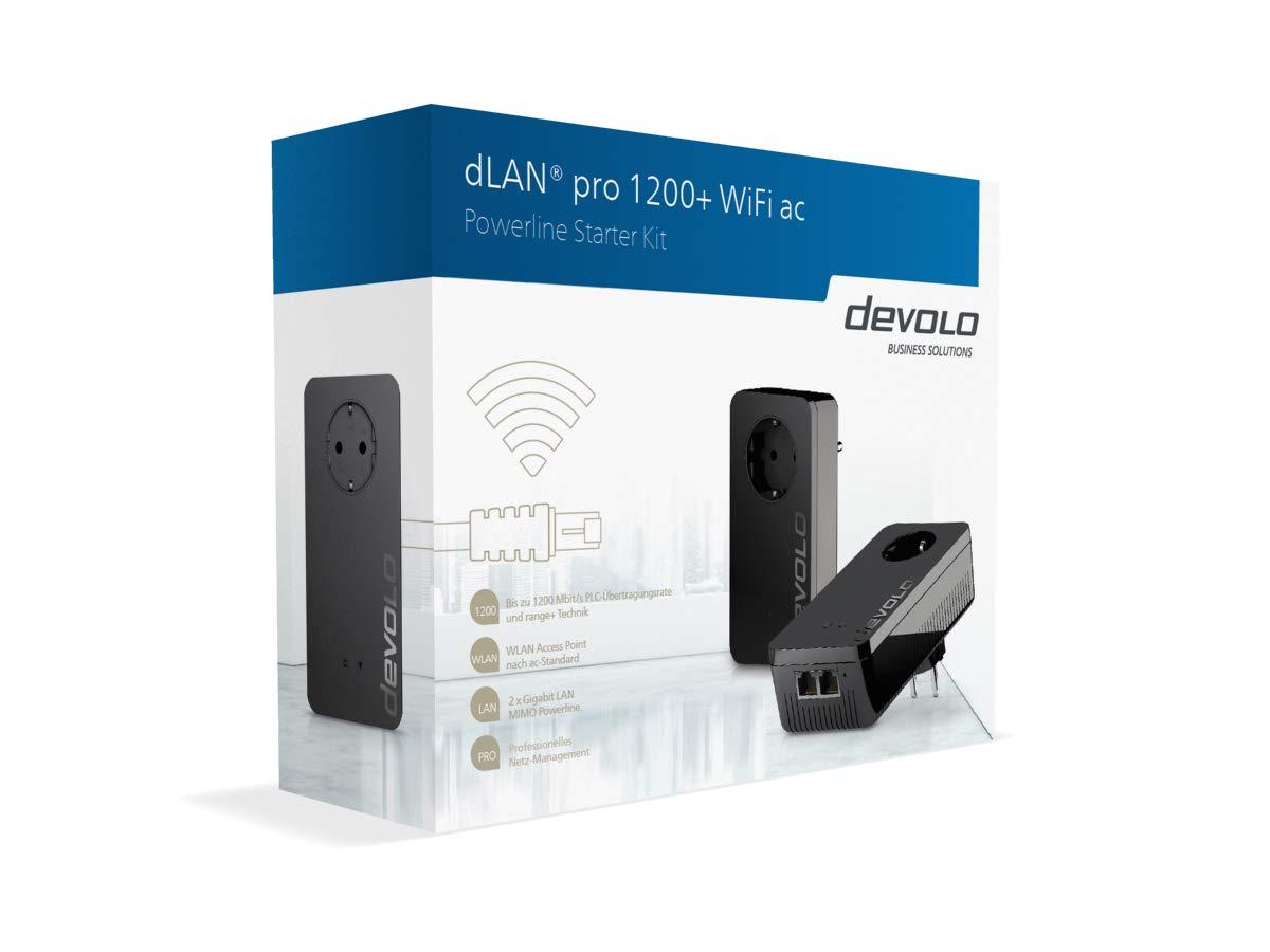 Adattatori PowerLAN Devolo dLAN pro 1200 WiFi ac Powerline Informatica