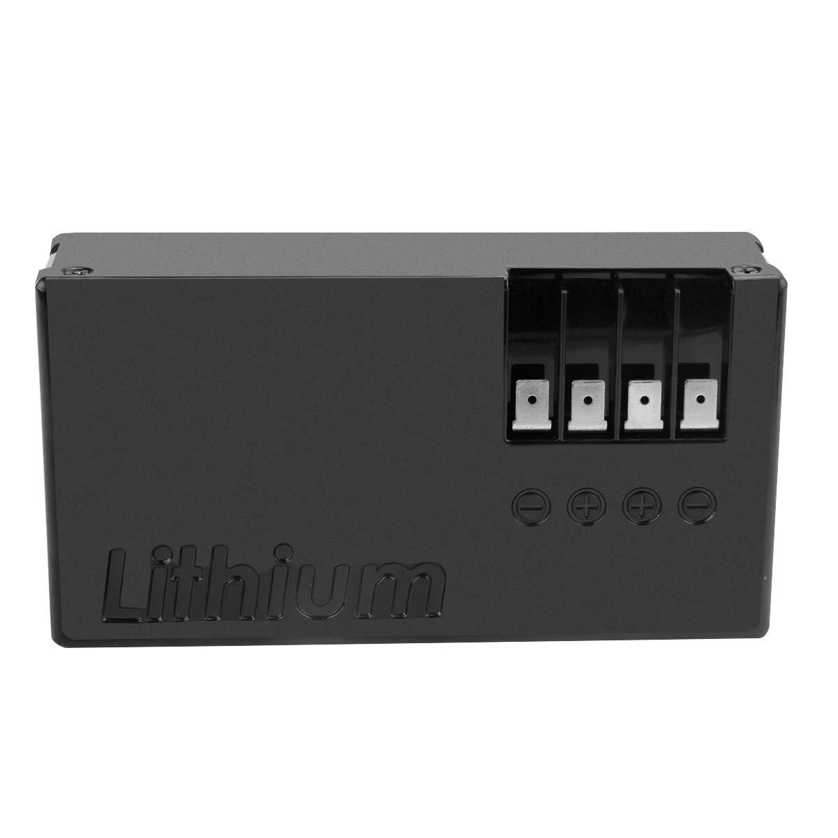 Exmate 25.2V 2300mAh batteria di ricambio agli ioni di litio per robot da prato Ambrogio Alex L30 L50 L30 Elite Sostituisci Zucchetti 075Z01300A