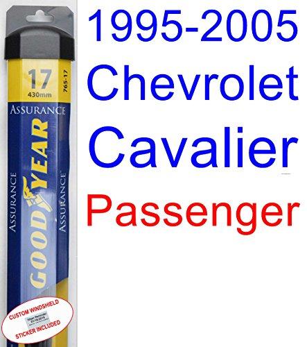 New 1995-2005 Chevrolet Cavalier Wiper Blade (Passenger) (Goodyear Wiper Blades-Assurance) (1996,1997,1998,1999,2000,2001,2002,2003,2004) for sale