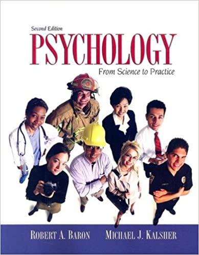 Psychology* 5th edition: buy psychology* 5th edition by baron at.