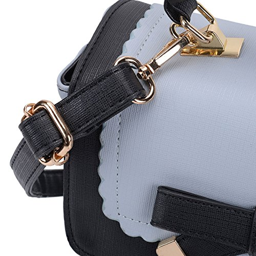 Lovely Quality Body Bag Cross Functional Blue Bag SALLY Messenger Leather And Spacious PU High Contrast YOUNG Color wXxZqE6