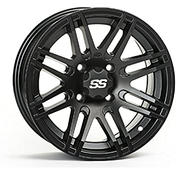 Amazon Com Itp 1428562536b Ss Alloy Ss316 Matte Black Wheel With