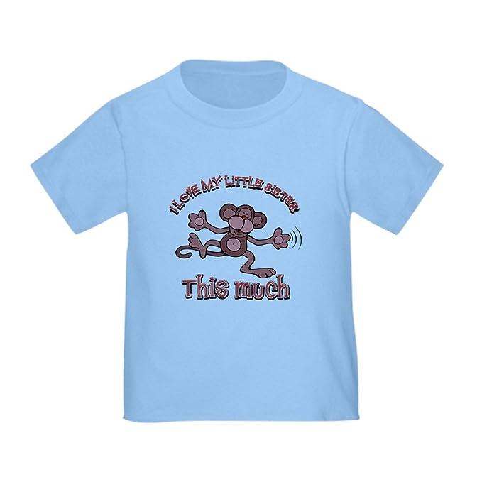 Amazoncom Cafepress I Love My Little Sister Toddler T Shirt
