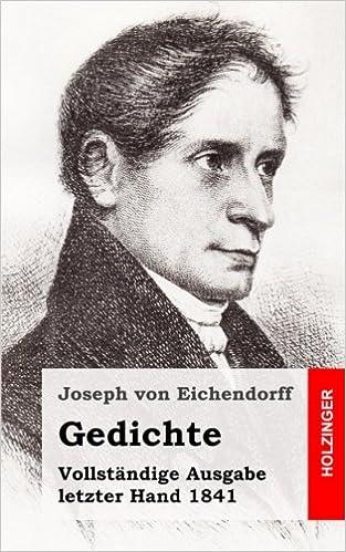 Gedichte Ausgabe 1841 German Edition Joseph Von