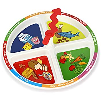 Pirate Game Style Start Finish Fun Kids Plate *FREE DELIVERY KIDS DINNER WINNER