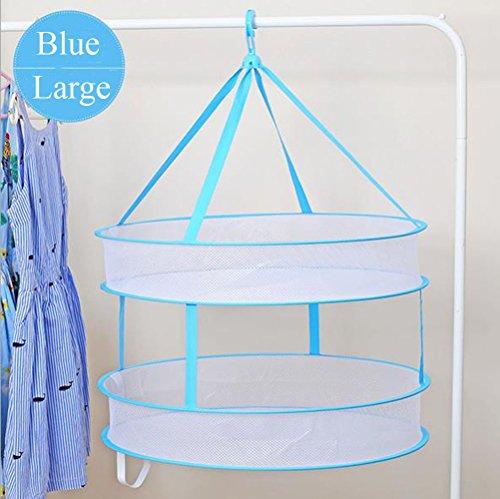 PythonWorld Drying Rack Folding Hanging Clothes Laundry Drye