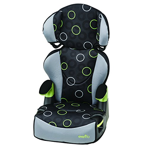 evenflo big kid high back booster car seat benton import it all. Black Bedroom Furniture Sets. Home Design Ideas