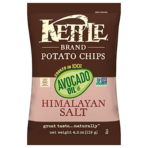 Kettle Brand Himalayan Salt Potato Chips Cooked In Avocado Oil, 4.2 oz Review
