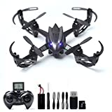WOBOX RC Drone with 2MP HD Camera RC Quadcopter 4CH 6-Axis Gyroscope 2.4 GHz Remote Control Quadcopter W11(4G SD Card & Card Reader Included)