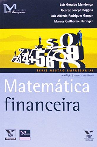 Matemática Financeira - Série Gestão Empresarial