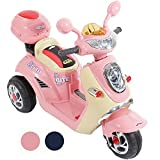 Rip-X Ride On Kids Electric Toy Scooter 6V Battery Operated Motorbike - Pink