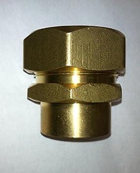 "3//4/"" PEXworx Pex-Al-Pex Compression Tee Brass Fitting"