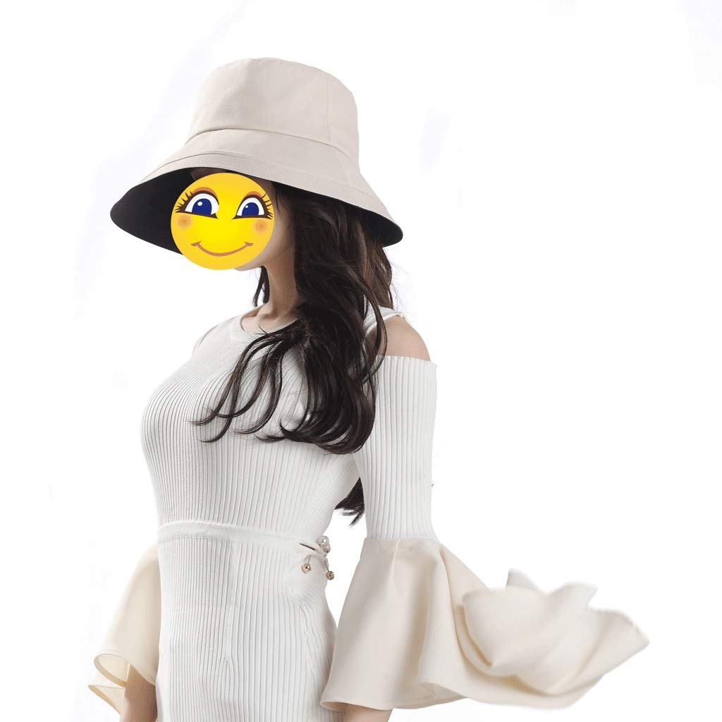 99.9/% Light Protection Foldable Female Summer Sunscreen UV Protection Sunshade Cotton Cap UPF50