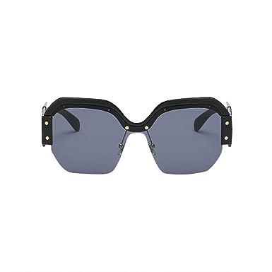 effce721a9a Moonuy Women New Style Retro Big Frame UV400 Eyewear Vintage Sunglasses  Ladies Fashion Eyeglasses for Girl (A)  Amazon.co.uk  Clothing