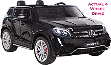 Mercedes 2 Seater Licensed GLS 63 AMG SUV Actual 4WD With 4 X Independent  Powerful Motors