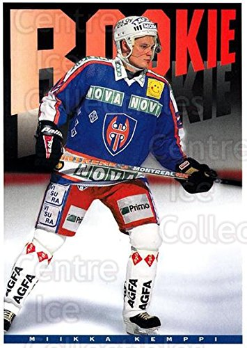 fan products of (CI) Miikka Kemppi Hockey Card 1994-95 Finnish Tappara Tampere Postcards 5 Miikka Kemppi