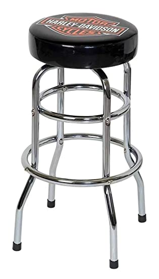 Fine Harley Davidson Classic Bar Shield Logo Bar Stool Hdl 12116A Gmtry Best Dining Table And Chair Ideas Images Gmtryco
