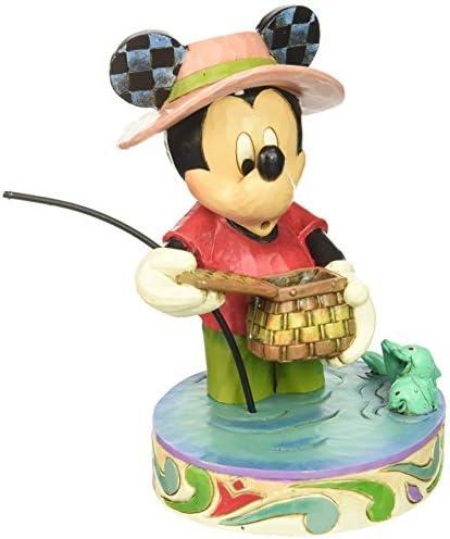 Disney figure Jim Showa Mickey Mickey Mouse Fishing JimShore Disney 4038493