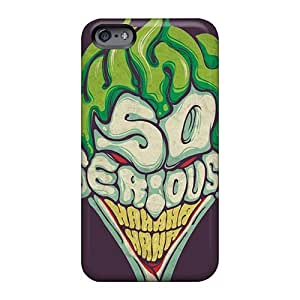 Hardcase88 Apple Iphone 6s Plus Shock Absorbent Cell-phone Hard Cover Unique Design High Resolution Joker Why So Serious Pattern [CPU1303TuDu]