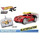 Toy State- Hot Wheels Cars Coche Radio Control, Color Rojo (91811)