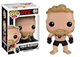 From the UFC, Conor McGregor, as a stylized POP vinyl from Funko! Figure stands 3 3/4 inches and comes in a window display box. Check out the other UFC figures from Funko! Collect them all!.