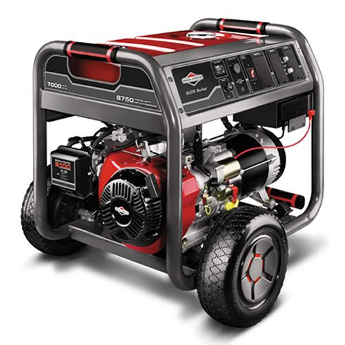 Briggs & Stratton 30663, 7000 Running Watts/8750 Starting Watts, Gas Powered Portable Generator