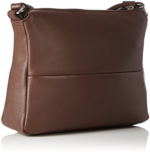 BREE Faro 1, Dark Brown, Cross Shoulder S, Borsa a tracolla Donna
