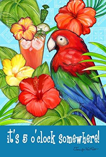 Toland Home Garden 1110396 It's Five 12.5 x 18 Inch Decorative, Garden Flag-12.5
