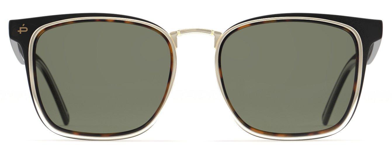 PRIVÉ REVAUX Places We Love Collection''The O.H.I.O'' Polarized Designer Square Sunglasses