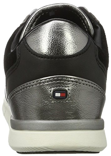 Sneakers Femme Basses Noir 1c1 S1285kye Tommy Hilfiger black RtwxqHFt