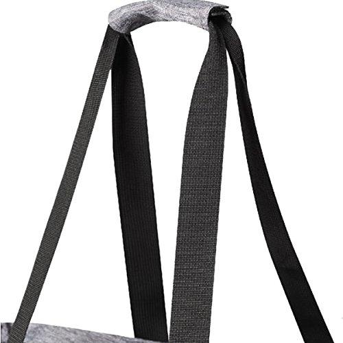 bags2go - Damen Shopping Bag - Shopper mit Innentasche und Reißverschlüssen für angenehmes Shoppen - modern RetroStyle