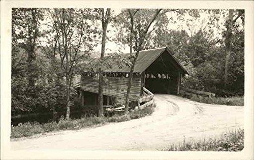 (Bridge at Campton Hallow, NH Campton Hallow, New Hampshire Original Vintage)