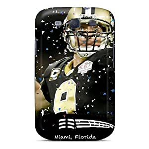 Samsung Galaxy S3 Kwo118LCYz Support Personal Customs Beautiful New Orleans Saints Series Excellent Cell-phone Hard Cover -AnnaDubois