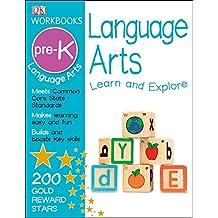 DK Workbooks: Language Arts, Pre-K [With Sticker(s)]