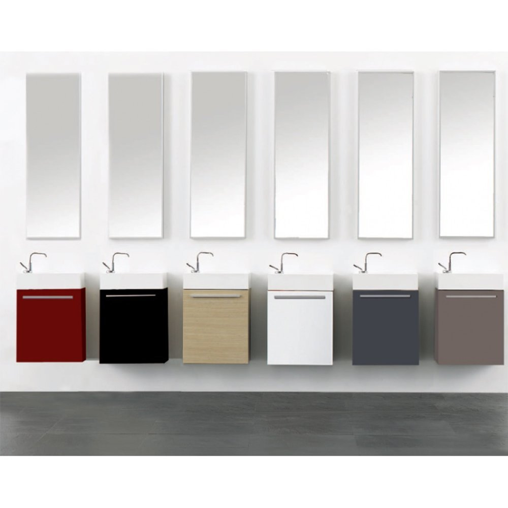 Degeo Lupio Wall Mounted Hand Wash Cabinet By Chipboard And