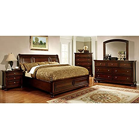 Amazon.com: 247SHOPATHOME Idf-7682EK-6PC Bedroom-Furniture-Sets ...
