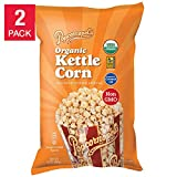 popcornopolis organic popcorn - Popcornopolis (2 PACK) Organic Kettle Corn Large 24 Ounce Bag Each